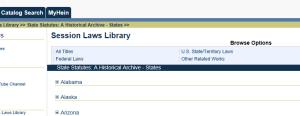 state statute archive III