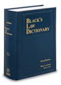 blackslawdictionary